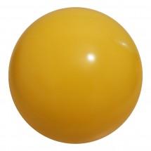 PVC Werbeball 4/10cm - gelb