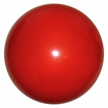 PVC Werbeball 6,5/16cm - rot