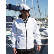 Printable Soft Shell Jacket - Black/Black