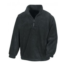 Active Fleece Top - Black