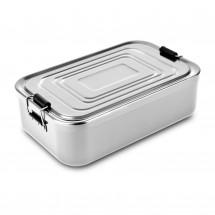 ROMINOX® Lunchbox // Quadra Silber XL