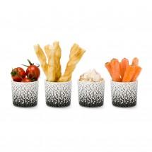 ROMINOX® 4er Set Mini Snackbecher // Aperitivo
