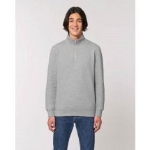 Herren Sweatshirt Stanley Trucker heather grey XS