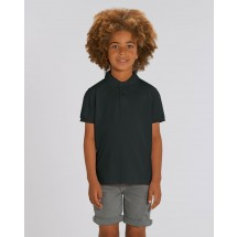Kinder Poloshirt Mini Sprinter black 3-4