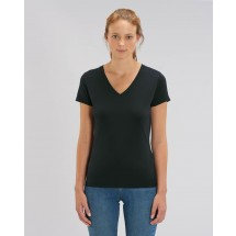 Damen T-Shirt Stella Evoker black XS