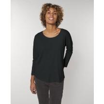 Damen T-Shirt Stella Waver Slub black XS