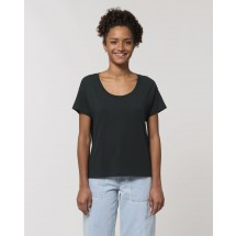 Damen T-Shirt Stella Chiller black XS