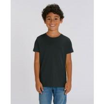 Kinder T-Shirt Mini Creator black 3-4