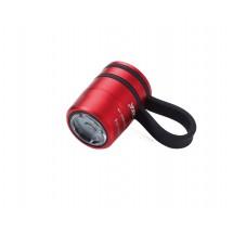Taschenlampe ECO RUN - rot, schwarz