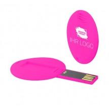 USB-Stick DISC 1GB - weiß