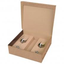 Vanilla Season® PAPUA Weisswein 2er Set Weißweingläser mit Platzhalter-Kartonage