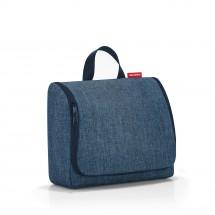 toiletbag XL twist blue