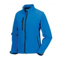 Ladies Softshell-Jacket - Azure Blue