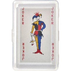 Kartenspiel Ace in transparenter PET Box