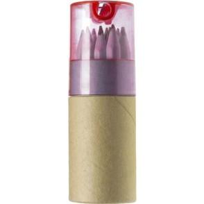 Buntstifte, 12er Set im Pappköcher