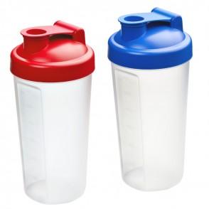 """Shaker """"Protein"""", 0,6 l, schwarz/transluzent-grau"""