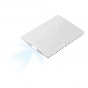 """Taschenlampe """"Card Light"""", weiß"""
