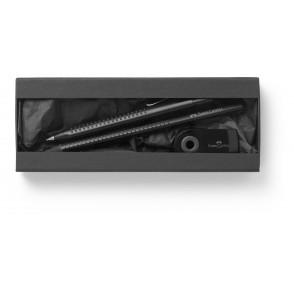 Black Edition, Kugelschreiber Grip 2011, Sleeve Radierer, Bleistift Grip 2001 Design