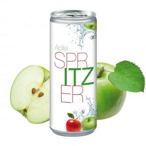 Apfelspritzer, 250 ml, Body Label
