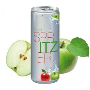 Apfelspritzer, 250 ml, No Label Look (Alu Look)