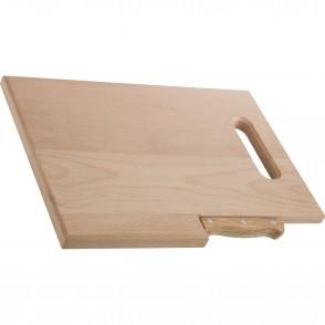 Holzbrett mit Messer Lizzano
