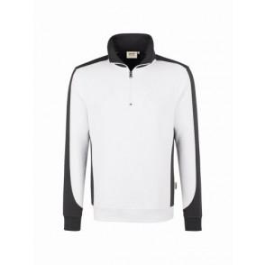 HAKRO No.476 Zip-Sweatshirt Contrast Performance