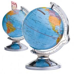 Spardose Globus