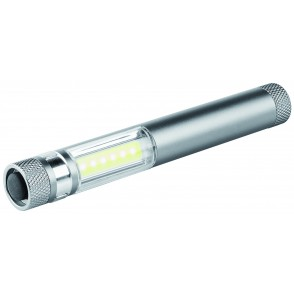 Metmaxx®LED Megabeam WorklightMicroCOB silber