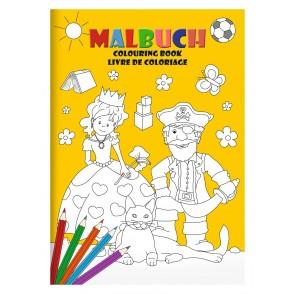 "Malbuch-Set DIN A4 ""Lieblingsmotive"""