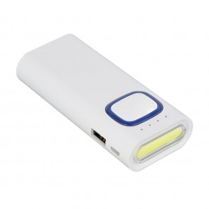 Powerbank mit COB LED Taschenlampe REFLECTS-COLLEC