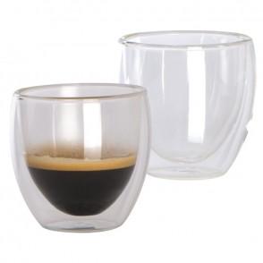 2er Set Espressotassen doppelwandig