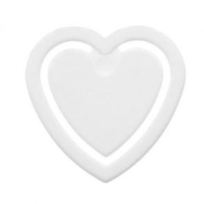 Zettelklammer Herzform