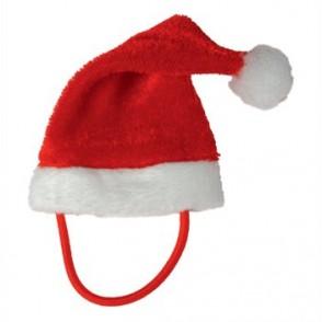 Weihnachtsmütze für Plüschtiere Gr. XS