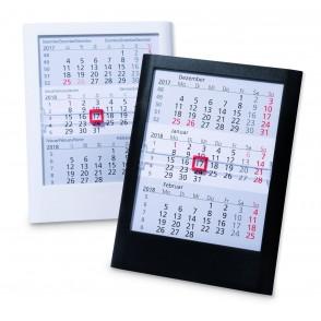 Kunststoff-Tischkalender Standard  6-sprachig