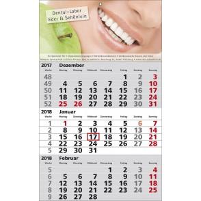 1-Block-Wandkalender Standard 1