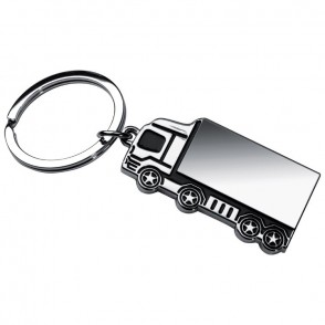 Metall-Schlüsselanhänger LKW