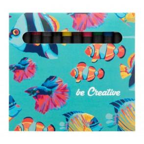 Individuelles Wachsmalstifte-Set (12 Stk.) Craxon 12