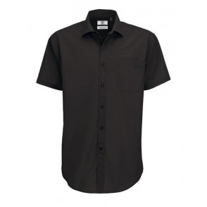 Poplin Shirt Smart Short Sleeve / Men