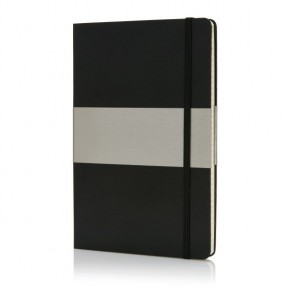 A5 Hardcover Notizbuch kariert