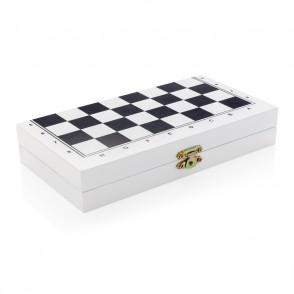 Deluxe 3-in-1 Brettspiel in Holzbox