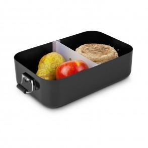 ROMINOX® Lunchbox // Quadra Schwarz matt XL