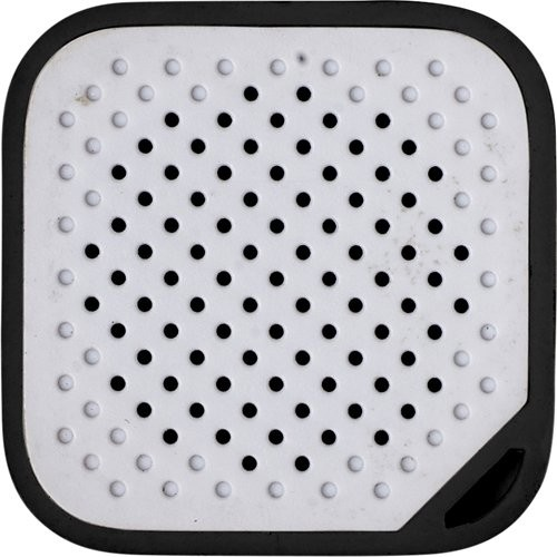 Kunststof mini speaker met batterij 150mA.