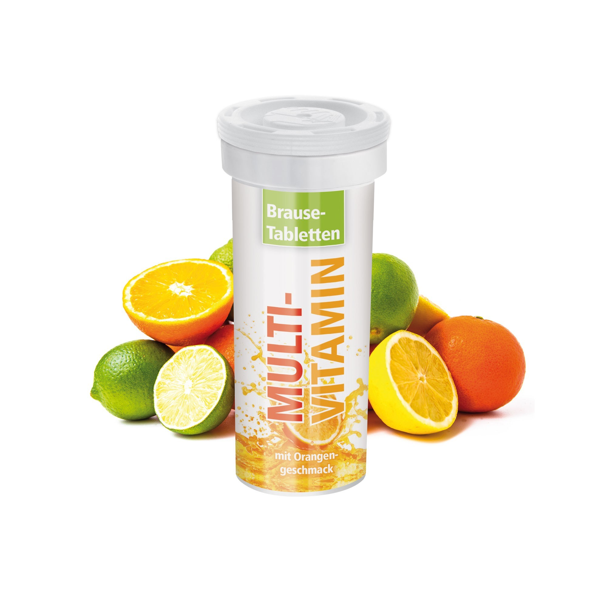 Buisje met 10 bruistabletten - Multivitamine - Body Label