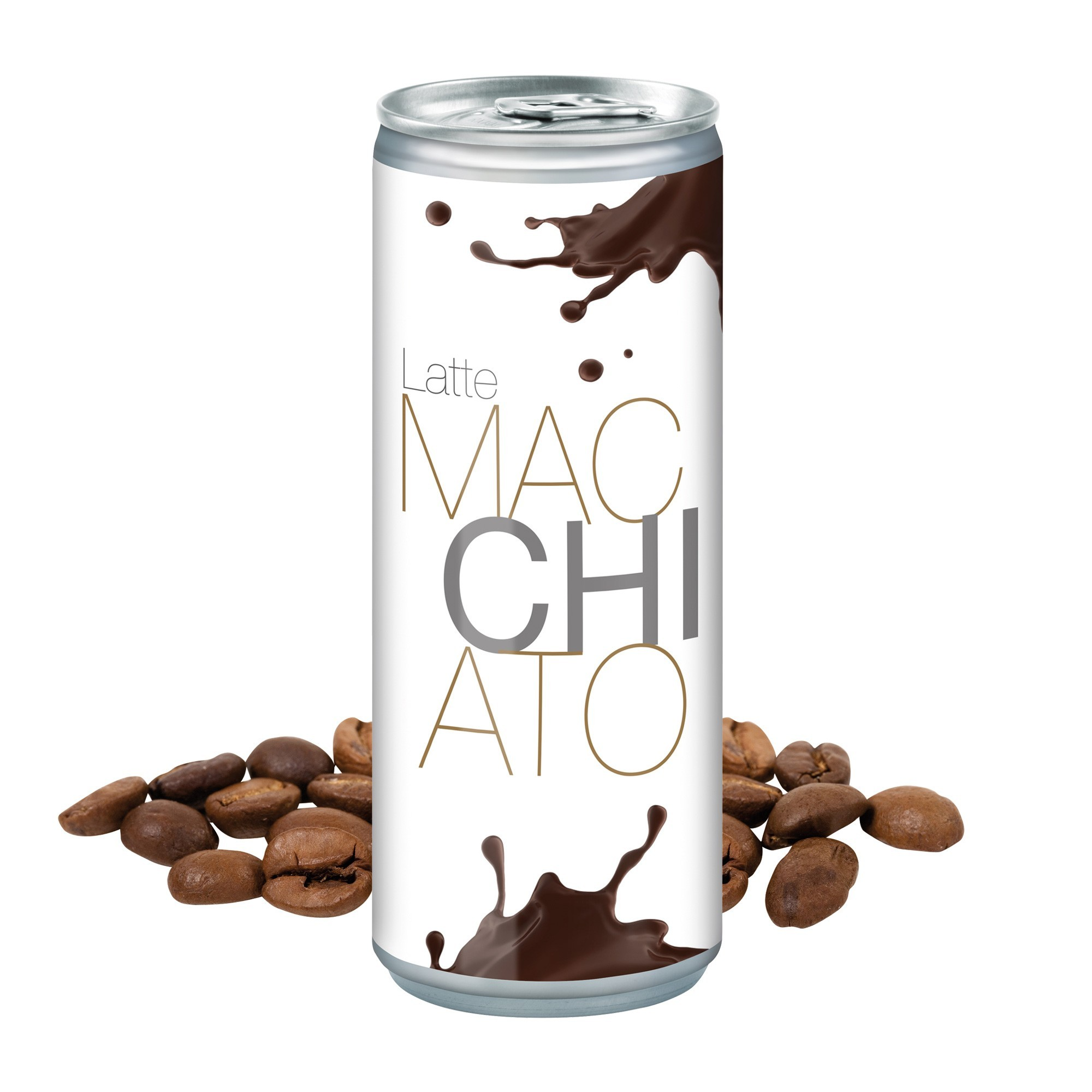 Latte Macchiato, 250 ml, Fullbody transp
