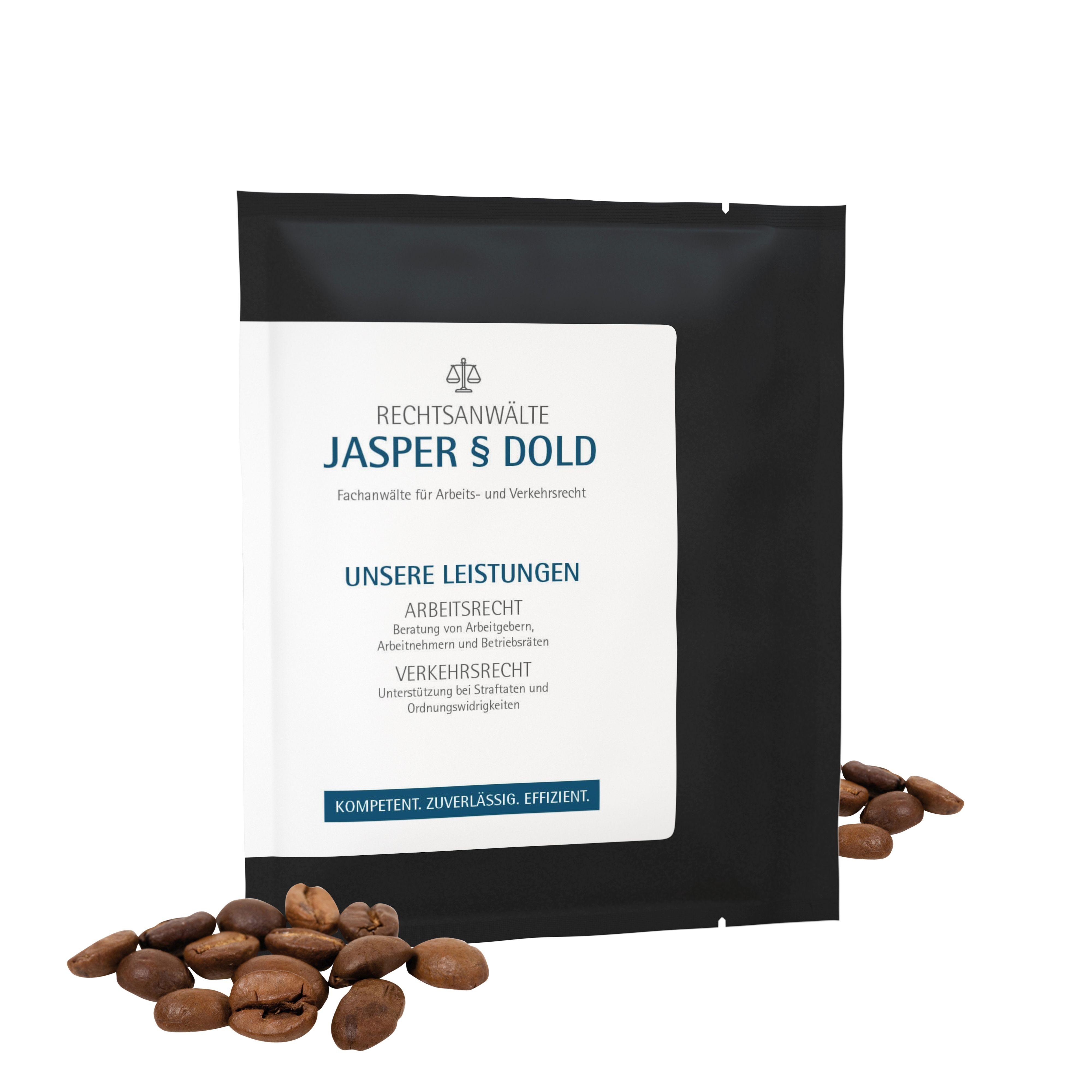 CoffeeBag - Bio Sipisopiso (mild) - Individueel Design, zwart
