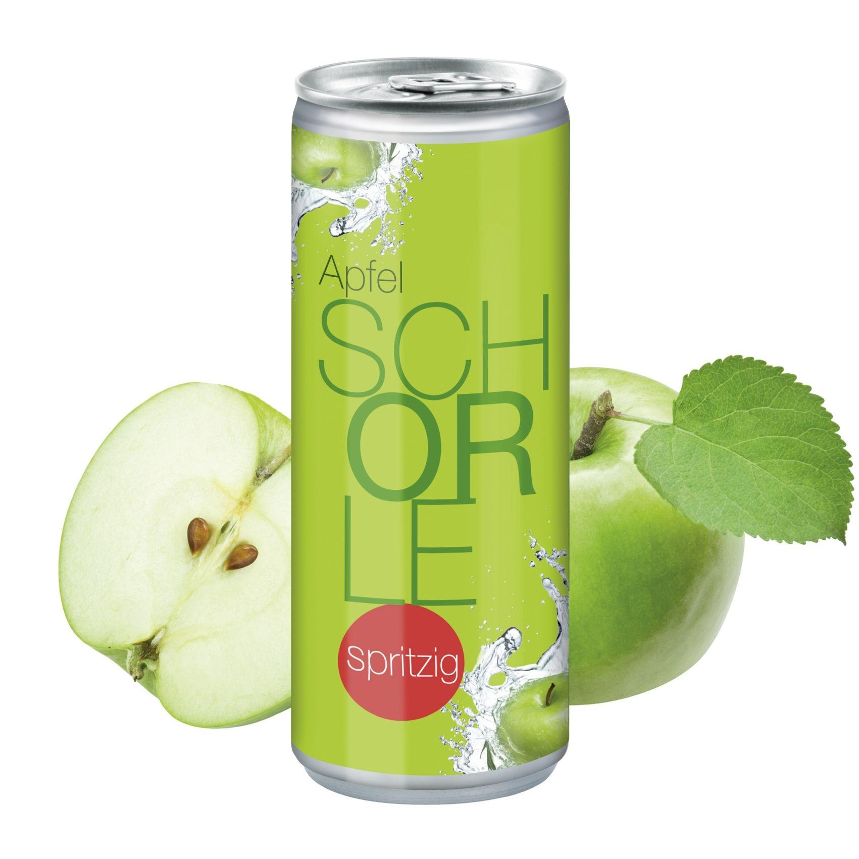 """Apfelspritzer """"sprankelend"""", 250 ml, Body Label"""