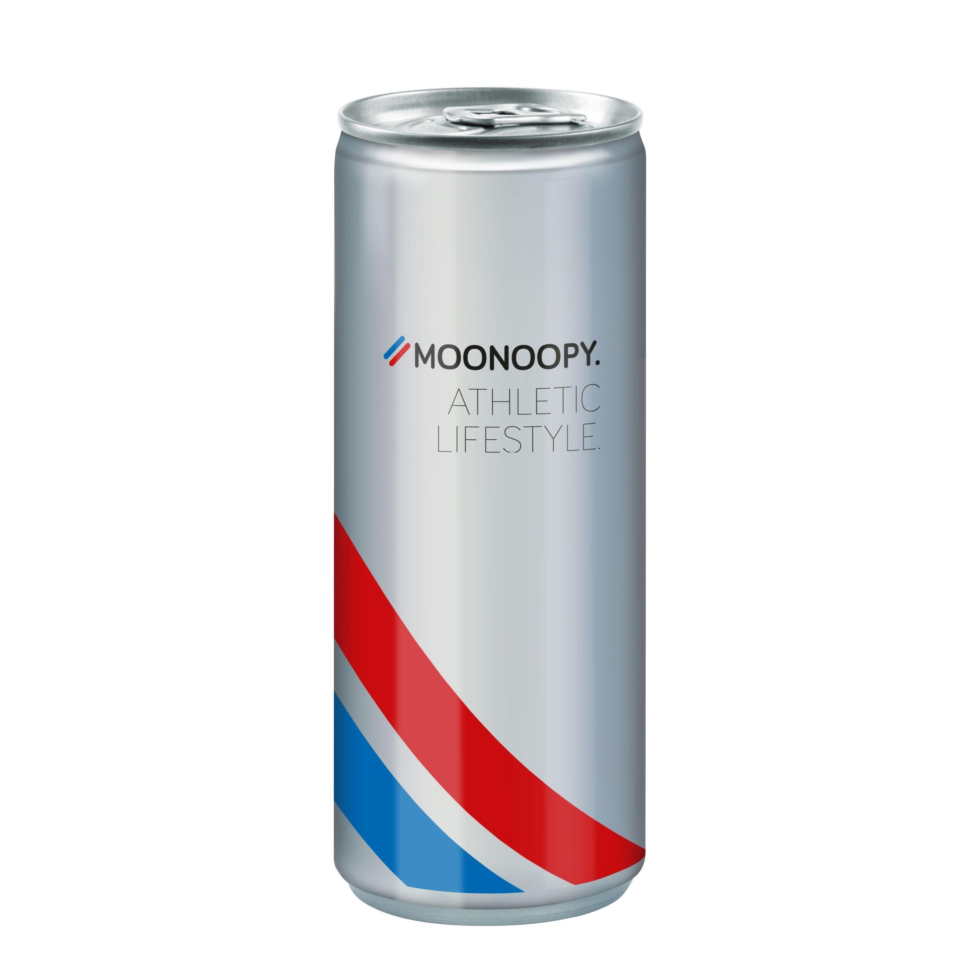Energy Drink, 250 ml, Body Label transp (Alu Look)