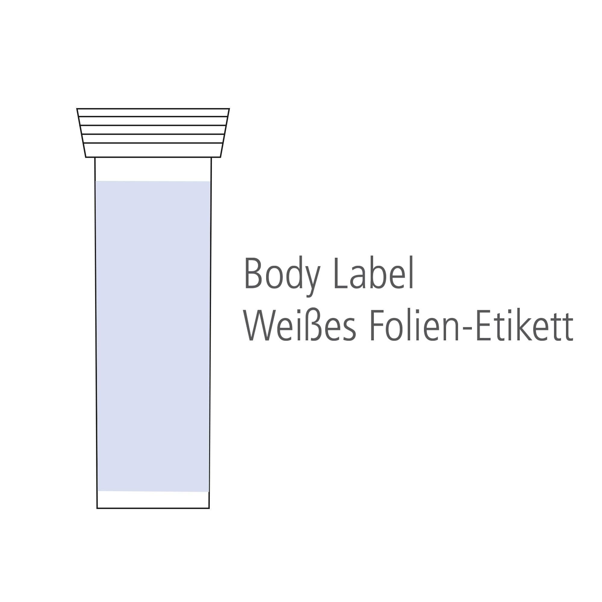 Buisje met 10 bruistabletten - Multivitamine - Body Label, View 3