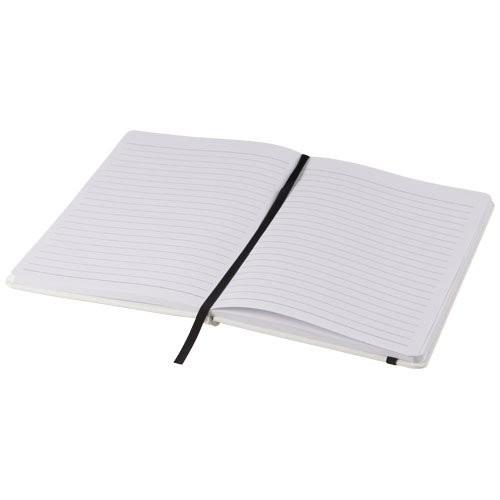 Witte A5 spectrum notitieboek met gekleurde sluiti, View 4