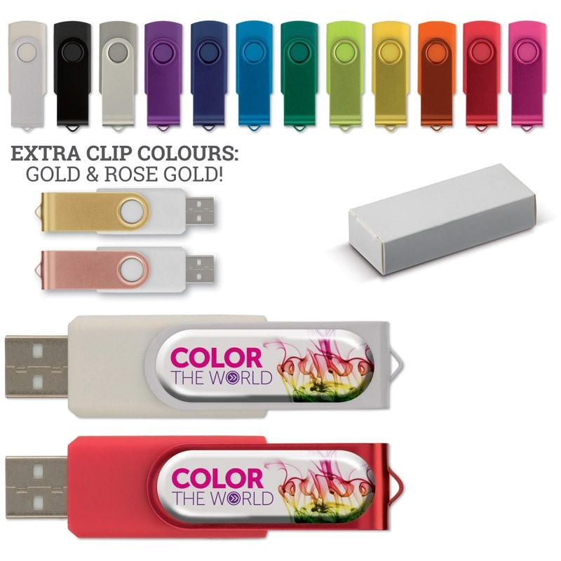 USB Stick 3.0 Twister 16GB Doming